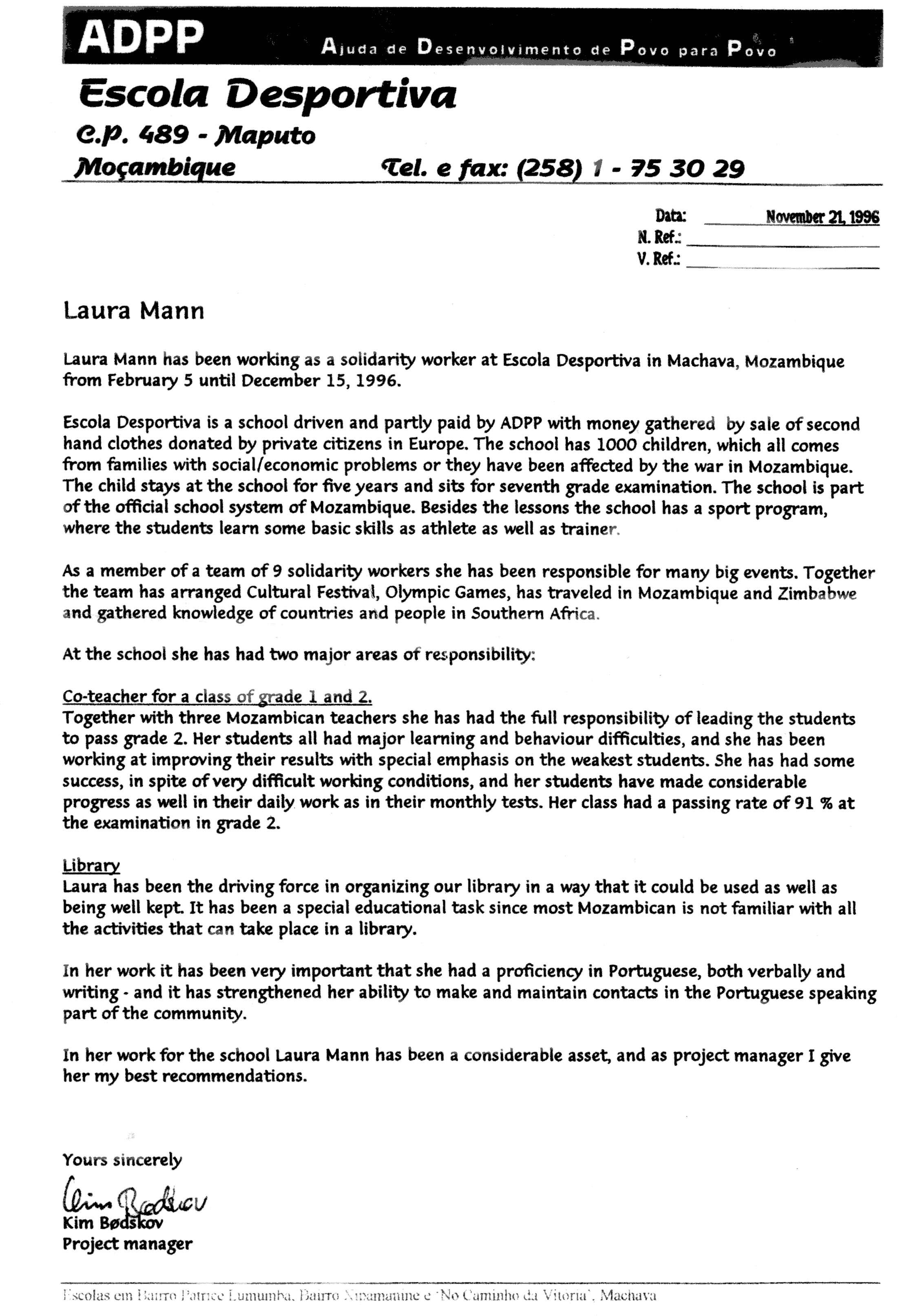 Letter for volunteer teachervolunteer letter template for How to write a cover letter for volunteering