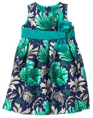 GYMBOREE EGG HUNT PURPLE FLORAL N BOW EASTER DRESSY DRESS 6 8 NWT