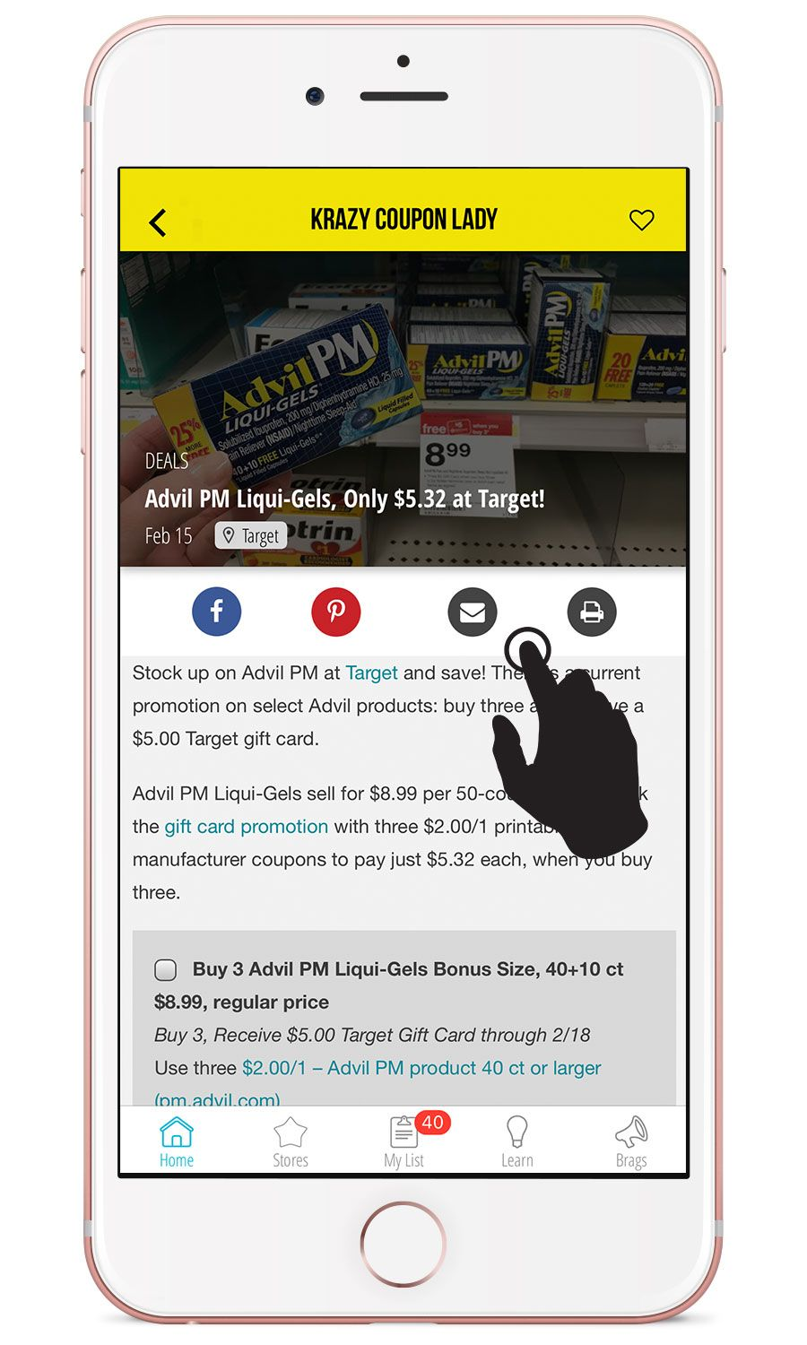 Getting Started With the Krazy Coupon Lady Mobile iOS App