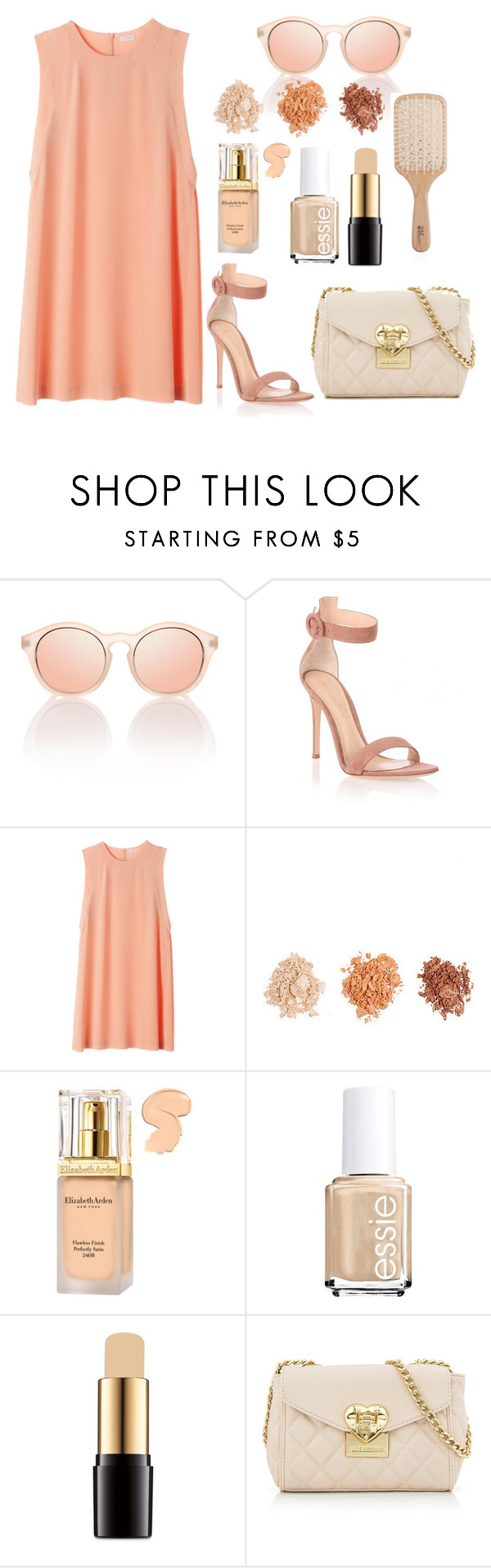 """#123"" by londero-danielle ❤ liked on Polyvore featuring Gianvito Rossi, Forever 21, Elizabeth Arden, Essie, Lancôme, Love Moschino and Philip Kingsley"
