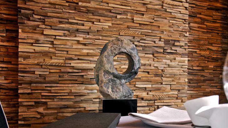 Helle Holz Wandverkleidung MERCURY wonderwallstudios Wonderwall - holzverkleidung innen modern