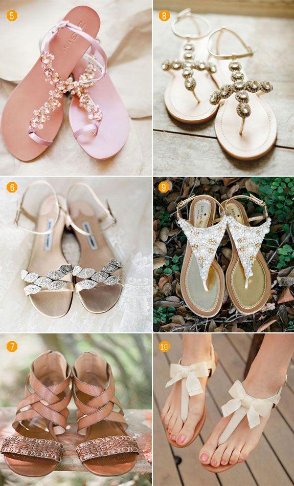 Boho Wedding | Bridal sandals