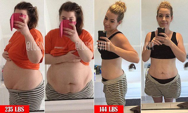 How a mother shed 100LBS in one year with any 'weight loss gimmicks'