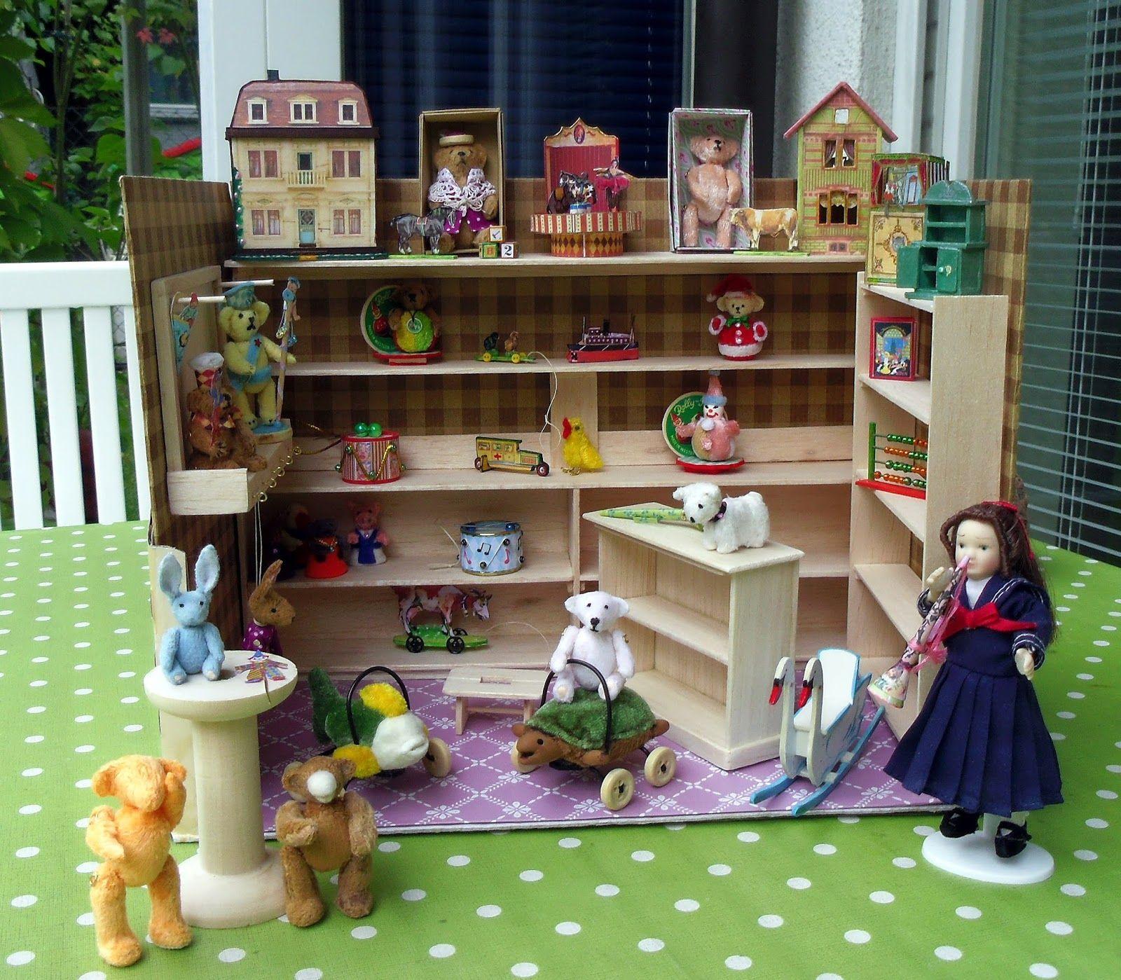 ein blog ber kreatives miteinander zum thema miniaturen 1zu12 puppenhaus 1 12 basteln. Black Bedroom Furniture Sets. Home Design Ideas