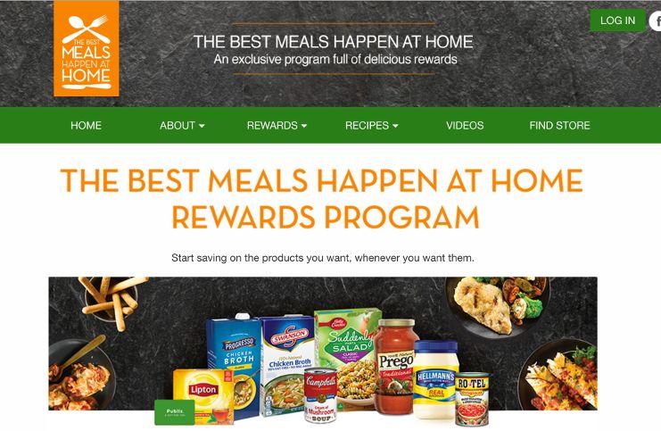 Publix best meals happen at home rewards program 2017