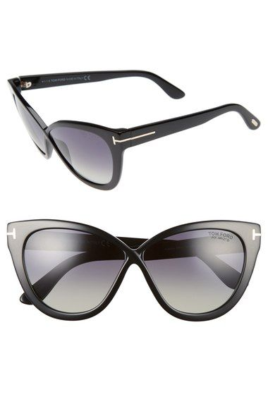 3855770465f Tom Ford Arabella 59mm Cat Eye Sunglasses available at  Nordstrom ...