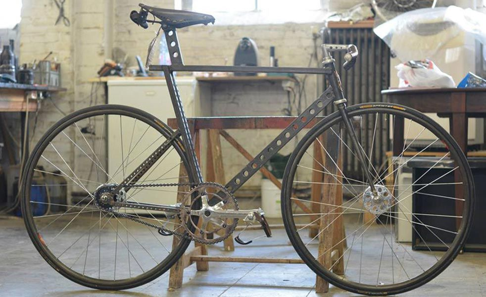 This Custom Bike Is An Industrial Work Of Art With Images