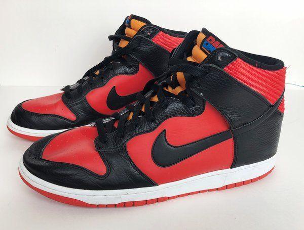 Nike Dunk High USAB Red Black Orange BAR Barcelona Summer Olympics 2012 Sz 11
