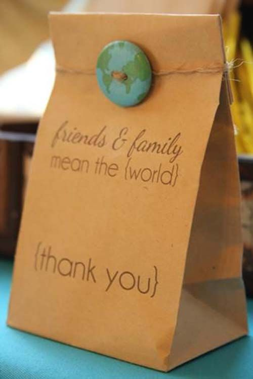 Welcome To The World Shower Favors Favors