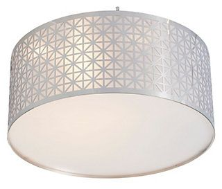 Aula Geometric Chrome Effect Ceiling Light Ceiling Lights Ceiling Lights Diy Ceiling