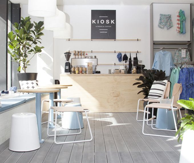 Country Road Have Created A Pop Up Coffee Cart In Their South Yarra Store.