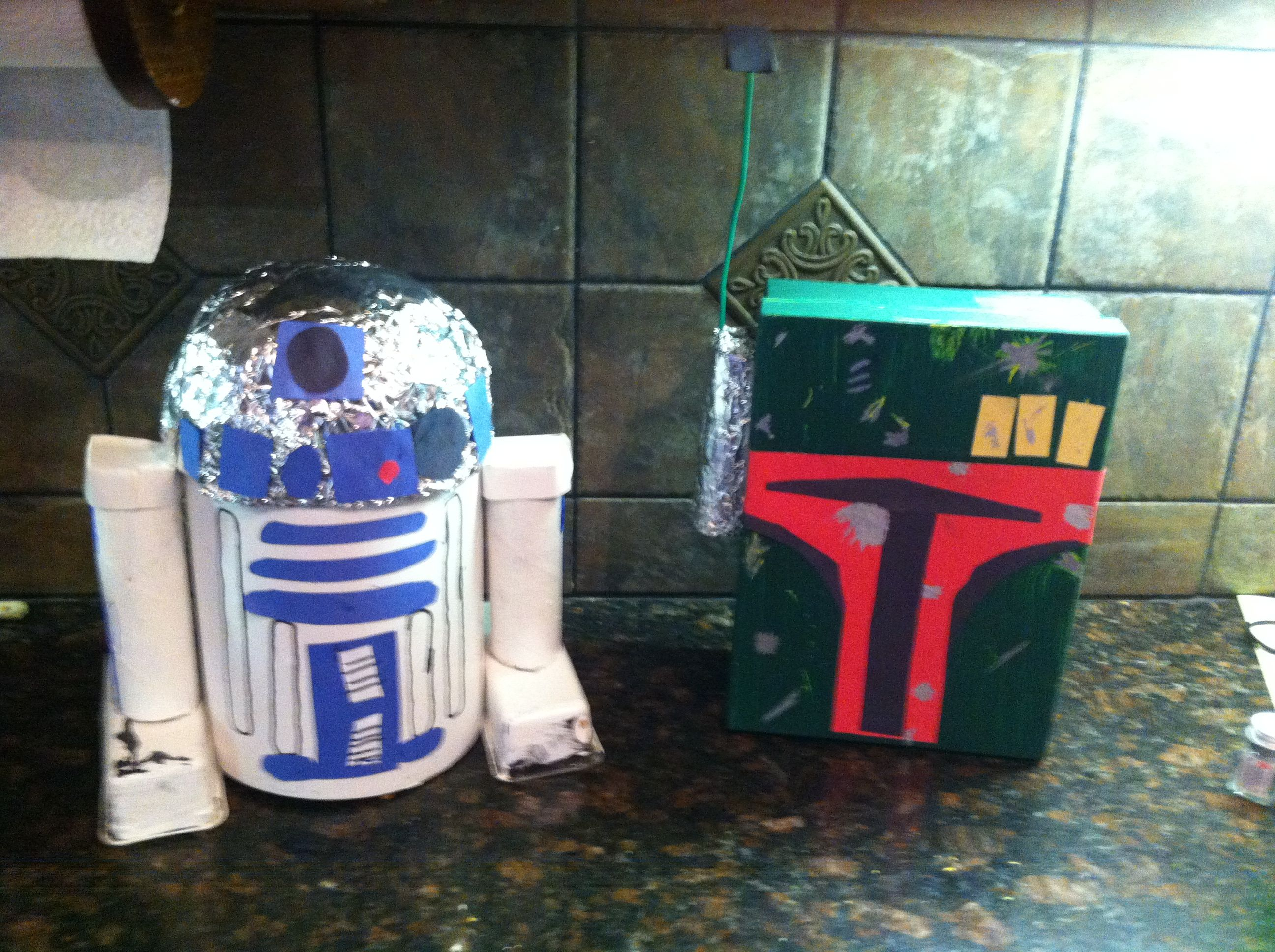 boy valentines boxes nothing says love like star wars - Boys Valentine Boxes