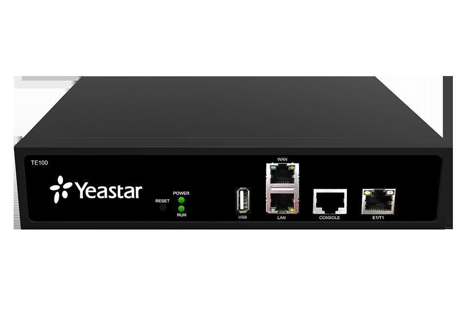 YST-TE100 NeoGate TE100 VoIP PRI Gateway, Caller ID name and