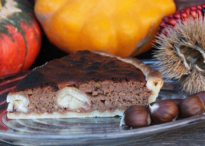 Maroni-Schoko-Kuchen
