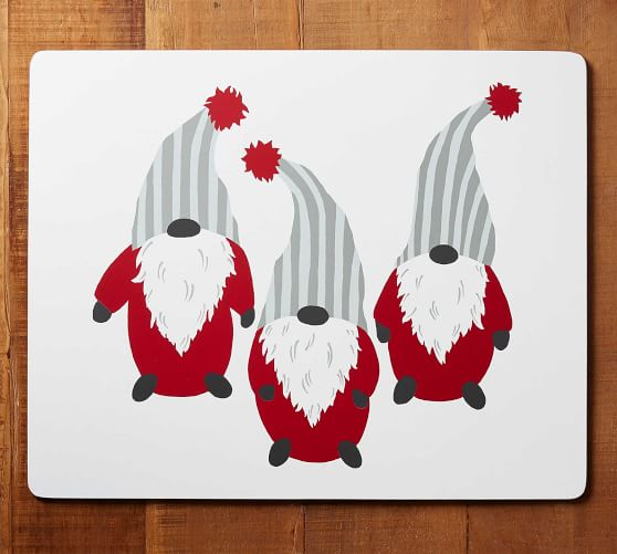 Gnome Cork Placemat Placemats Gnomes Christmas Crafts