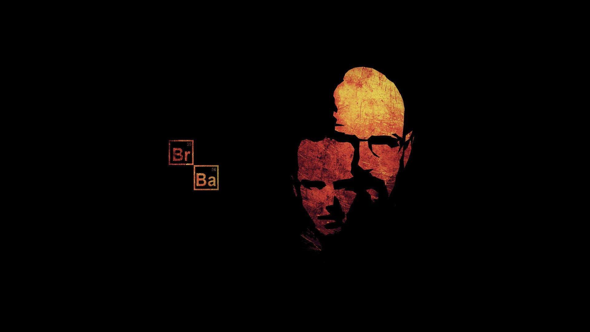 Breaking Bad Walter White Jesse Pinkman Simple 1080p Wallpaper Hdwallpaper Desktop Breaking Bad Black Background Wallpaper Breaking Bad Tv Series
