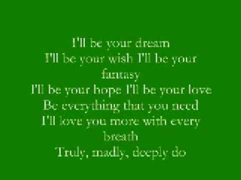 Truly, Madly, Deeply - Savage Garden With Lyrics Again, taken away ...