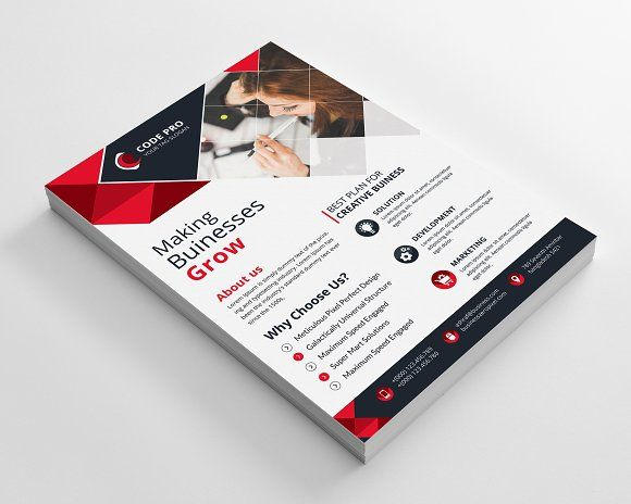 Business Flyer by Creative Idea on @creativemarket | Flyer ...