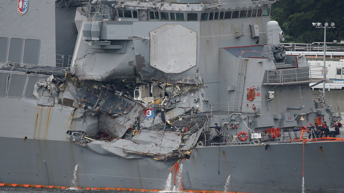 YOKOSUKA, Japan — As most of its crew slept on Friday night, the USS Fitzgerald passed through one of Japan's busiest shipping lanes just south of Tokyo, a watch crew assigned to guide its passage. In a period of seconds, a 29,000-ton cargo ship loaded with containers plowed into its right... - #Finance, #Killed, #Navy, #Questions, #Remain, #Sailors