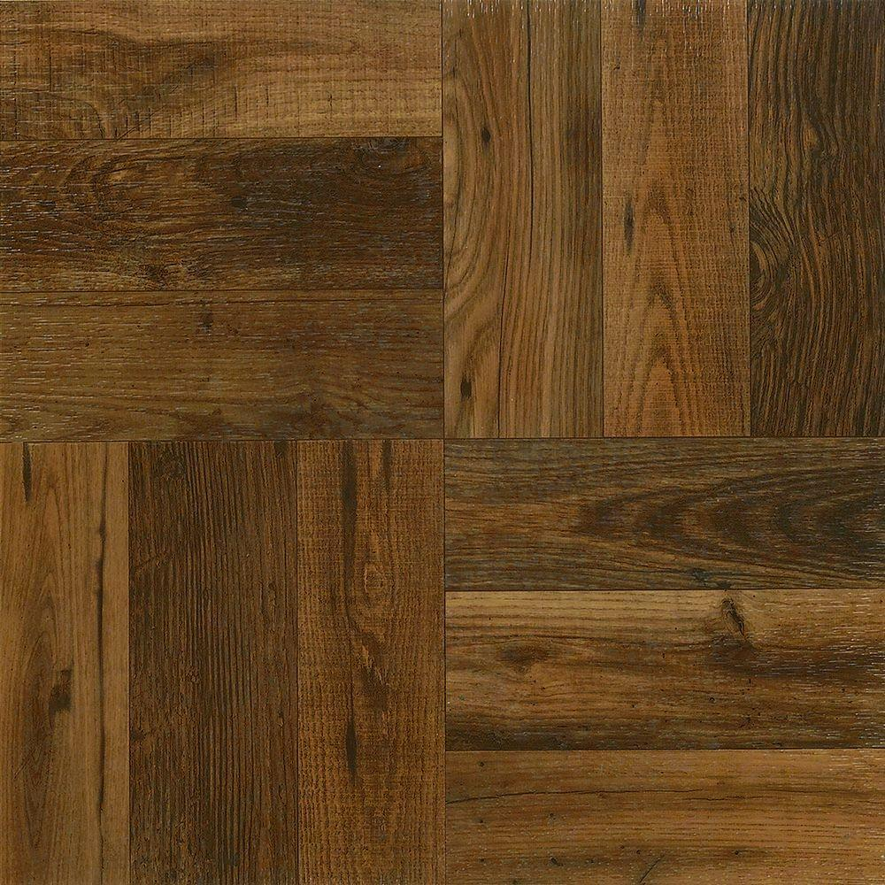 Armstrong Rustic Wood 12 In X 12 In Peel And Stick Vinyl Tile 30 Sq Ft Case A4225051 The Home Depot In 2020 Wood Vinyl Vinyl Tile Rustic Wood