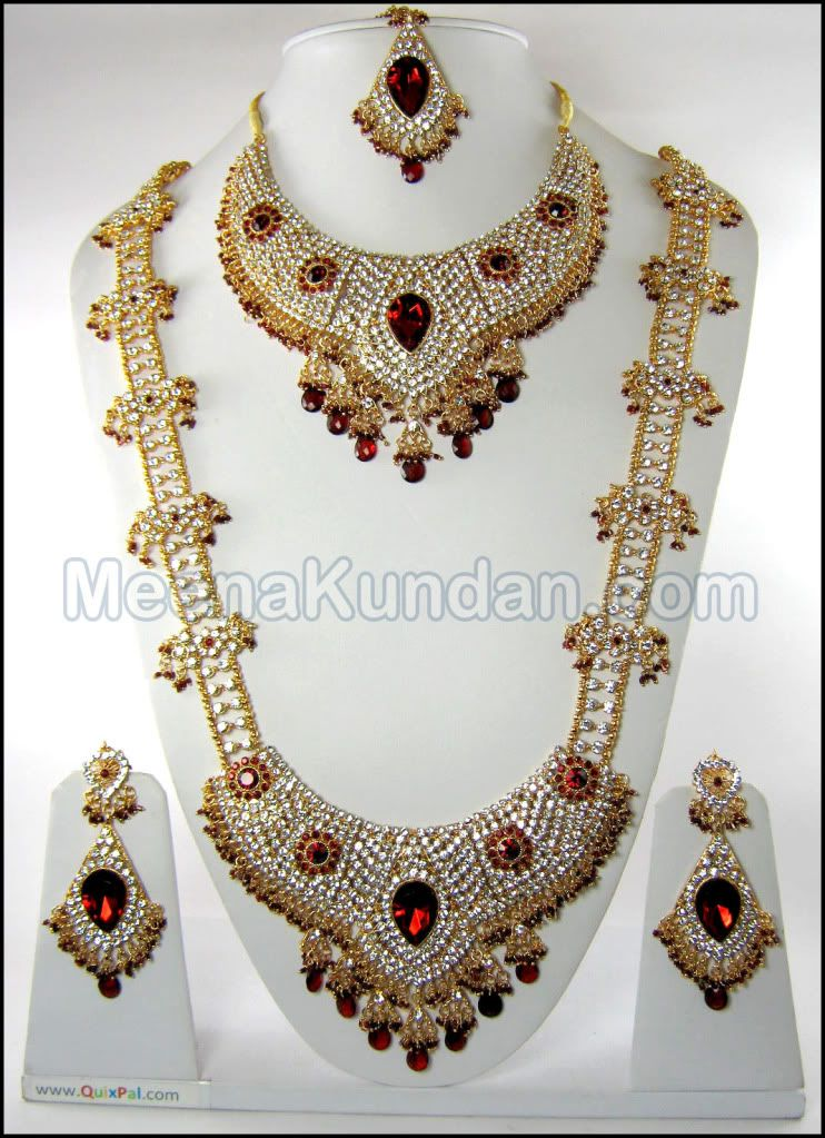 indian jewelry sets | Beautiful Grand Indian Bridal Jewelry ...