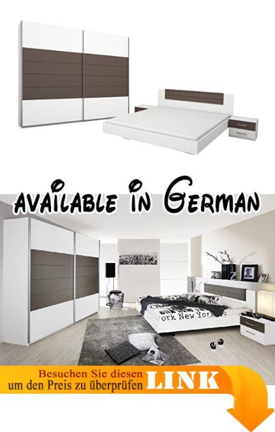 B00H8NR0EG  Rauch Schlafzimmer Komplett Set mit Bett 180x200 - schlafzimmer komplett