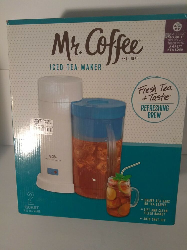 Details About Mr Coffee Iced Tea Maker 3 Quart With Brew Strength