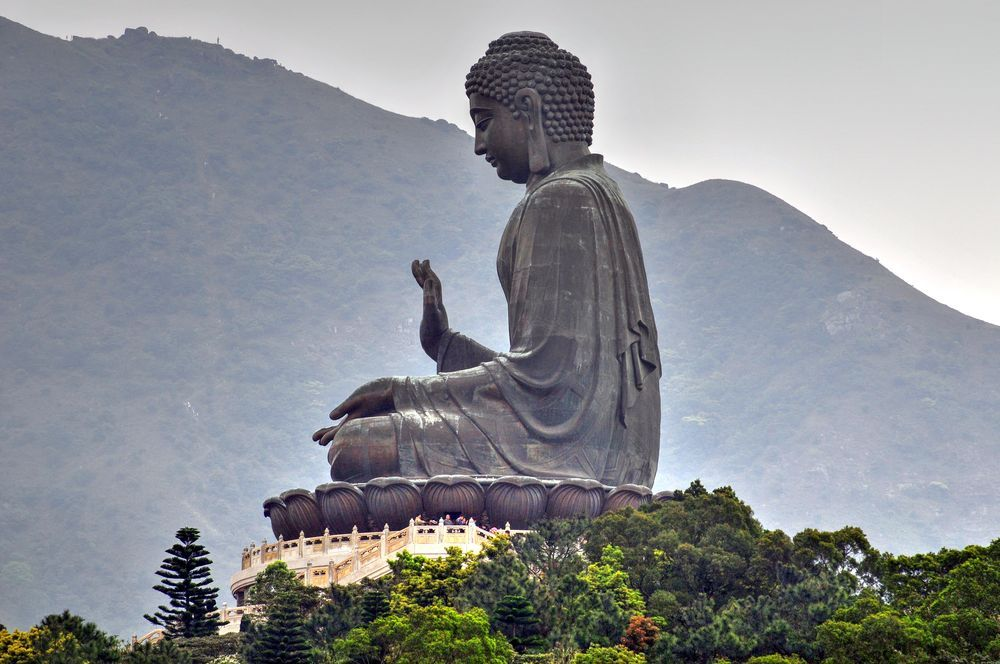 Tian Tan Buddha (Island Hong Kong) Photo by Rick Brown -- National Geographic Your Shot