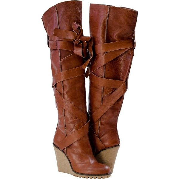 Above knee cut boot. 4