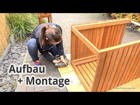m lltonnenbox classic fsc eukalyptus holz edelstahl zubeh r youtube selber machen. Black Bedroom Furniture Sets. Home Design Ideas