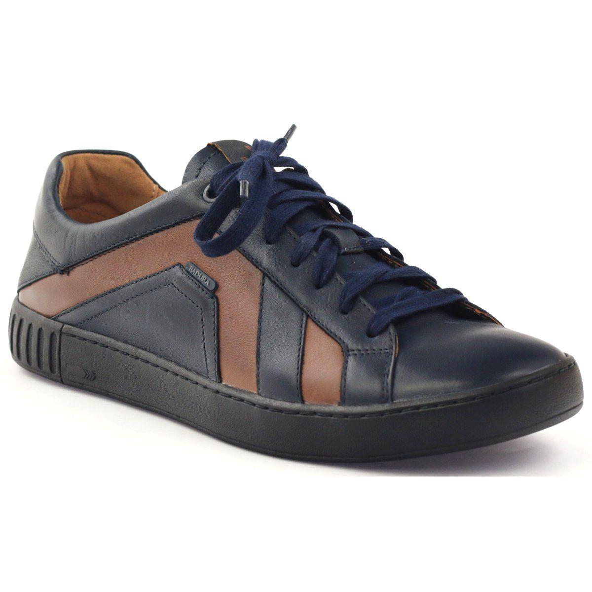 Polbuty Sportowe Badura 3387 Granatowe Brazowe Mens Shoes Boots Shoes Mens Shoes