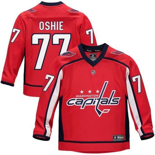 609eabc43 TJ Oshie Washington Capitals Fanatics Branded Youth Replica Player Jersey -  Red
