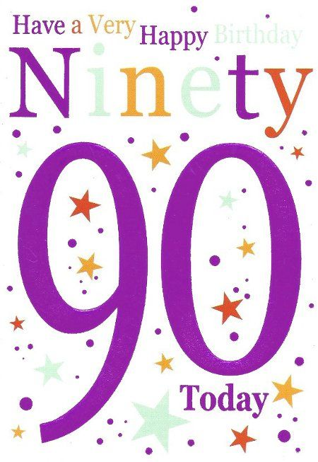 For Mom Happy Birthday 90