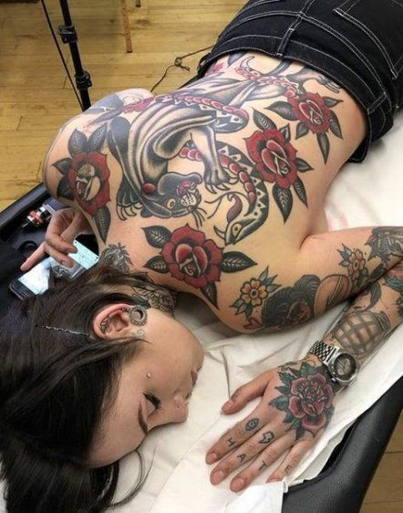 Tattoo old school back traditional ink 41+ Ideas for 2019 -  Tattoo old school back traditional ink 41+ Ideas for 2019 #tattoo  - #daintyjewelry #Ideas #Ink #jewelryaesthetic #jewelrysimple #mermaidtattoo #School #Tattoo #tattooantebrazo #TRADITIONAL #traditionaltattoo