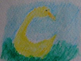 Waldorf ~ 1st grade ~ Letter: G ~ Golden Goose