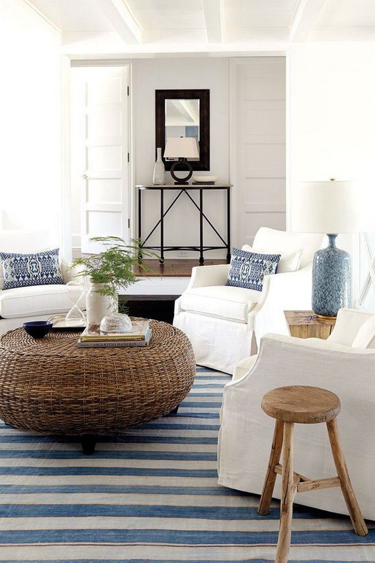15 Marvelous Beach Coastal Decor Ideas Inspired Home Decor Page 12 Of 18 Coastal Style Living Room Coastal Decorating Living Room Coastal Living Room