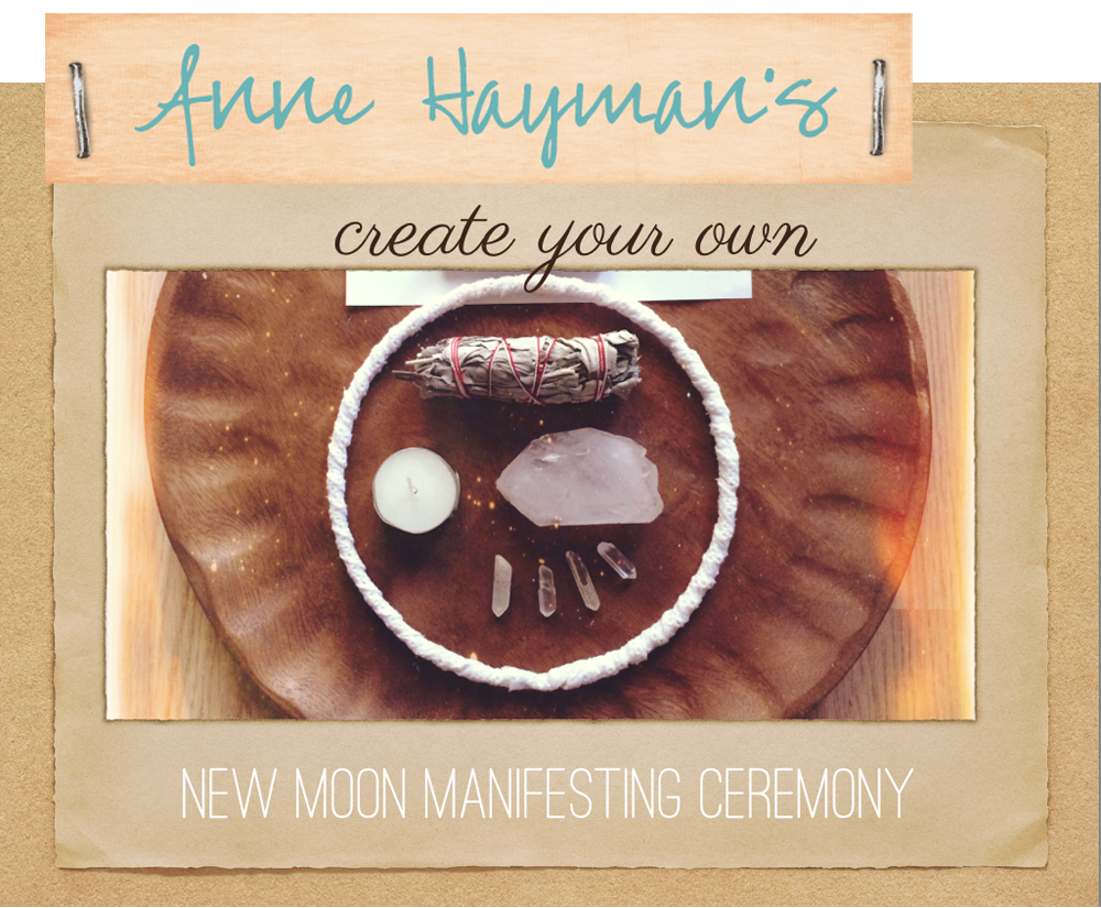 new moon manifesting ceremony e-course