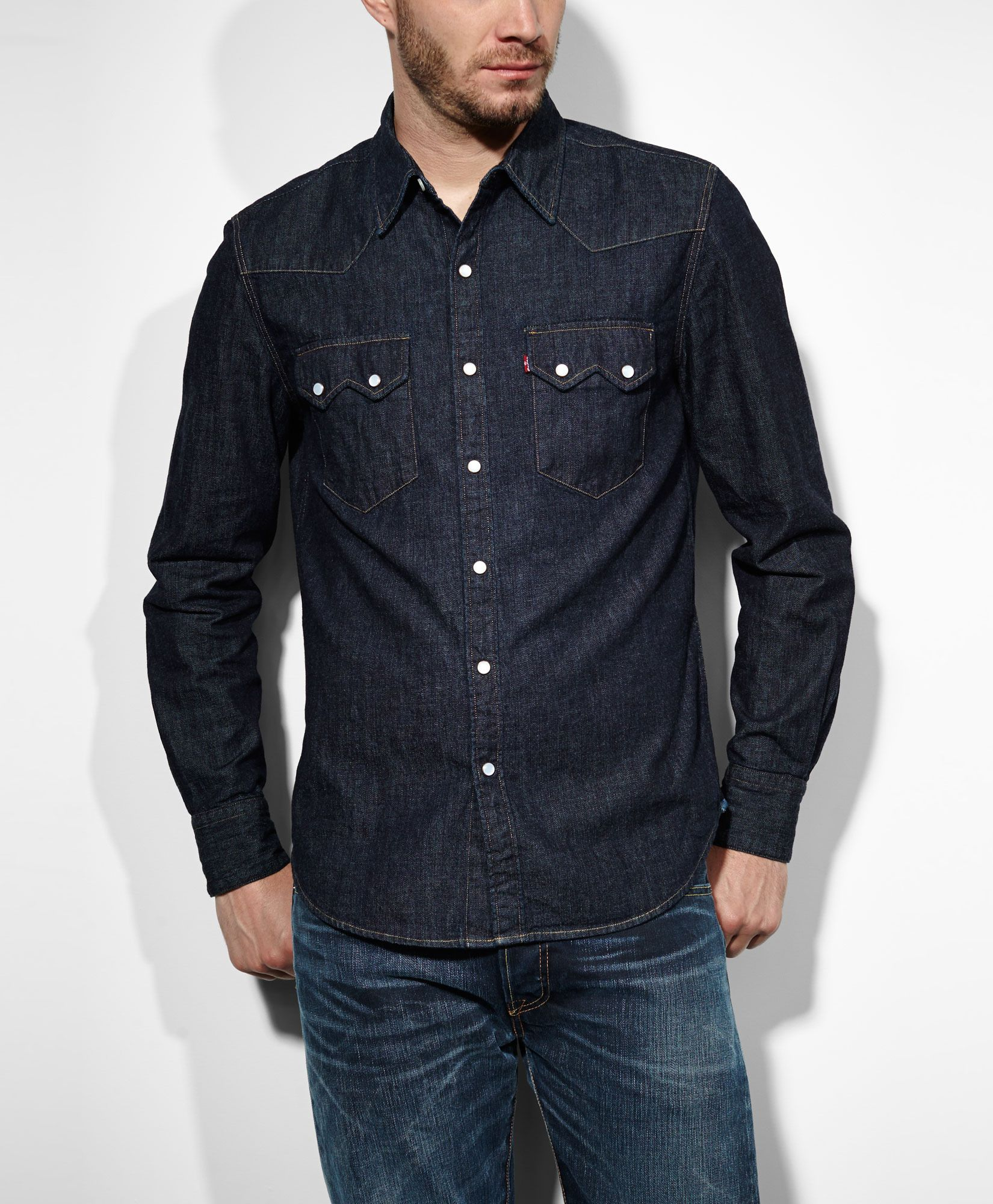 Shirt Sawtooth SleeveShirts Western Rigid Levi's Long dhCtsQrx