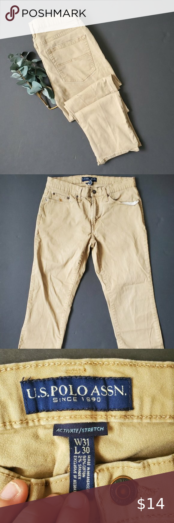 Us Polo Assassin Khaki Pants Khaki Pants Khaki Khaki Chino Pants
