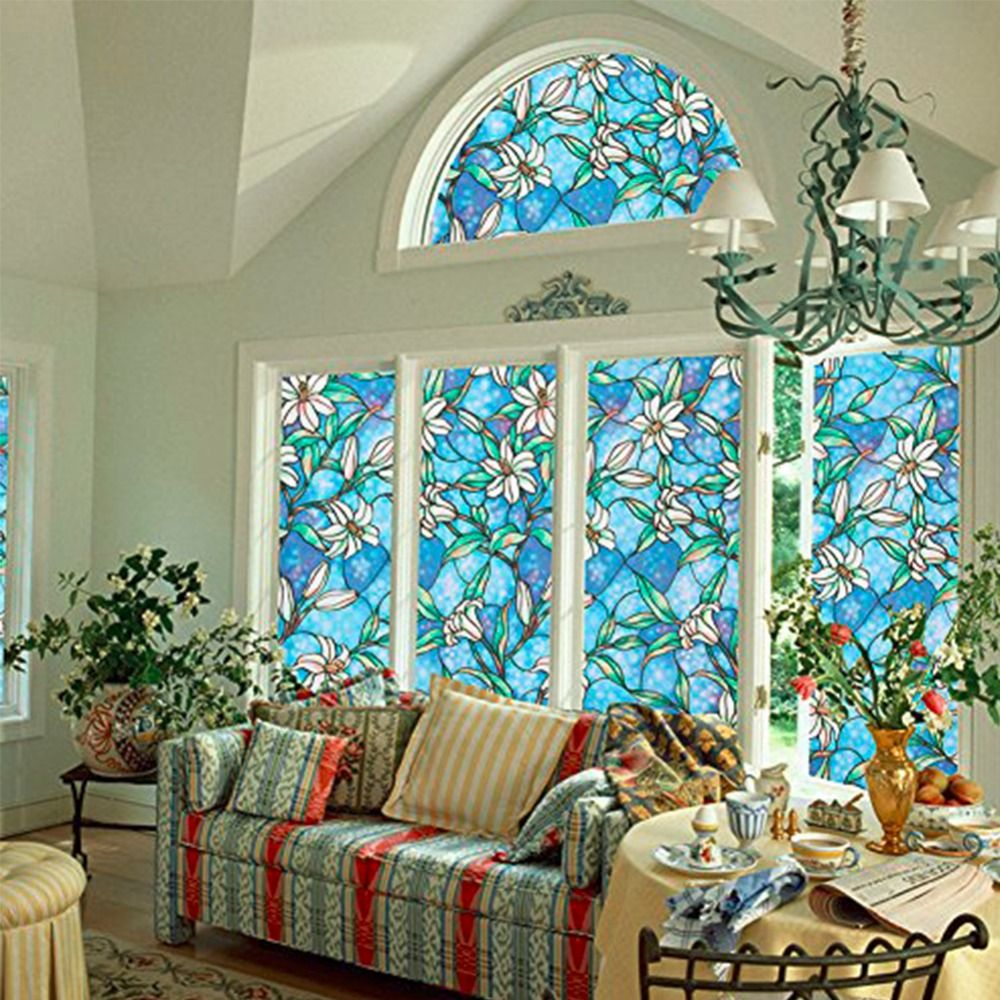 Xcm D Stained Opaque Glass Window Film Sunscreen Door Window - Window stickers for home privacy