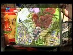 3b99d77c87af Шьем сумку, воротник и жилет из остатков кружева, ситца, кусочков газа и  меха