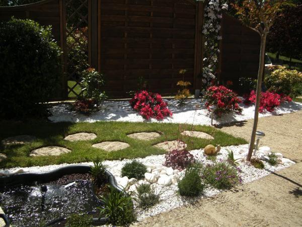 Jardin zen avec bassin Jardines Zen Pinterest - jardines zen