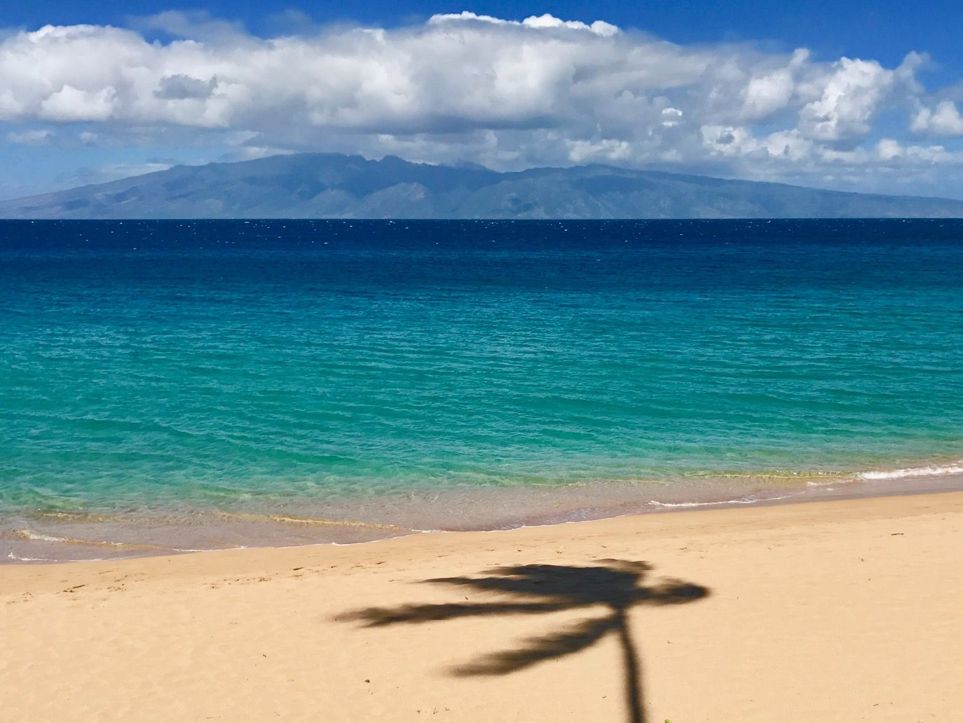 The View From Boardwalk At Airport Beach On West Maui