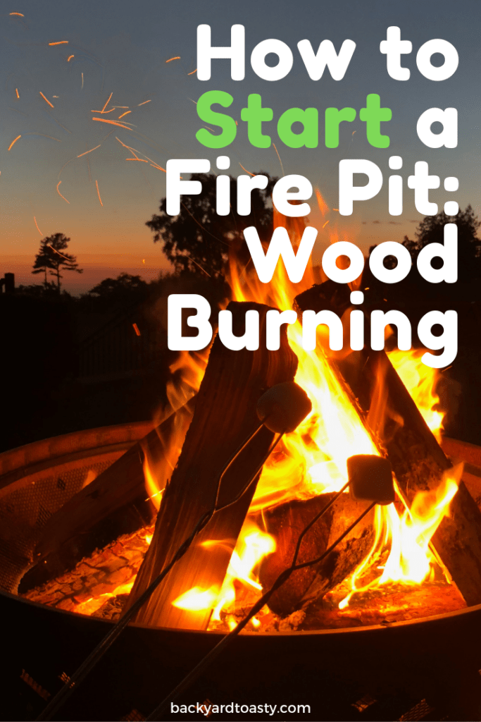 Learn How To Start A Fire Pit Right The First Time And Keep It Lit Tips Tricks And Recommendations To I Fire Pit Lighting Wood Fire Pit Fire Pit Landscaping