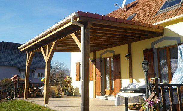 Pergola Bois Couverte Terrasse Couverte 30 Id Es Sur L 39
