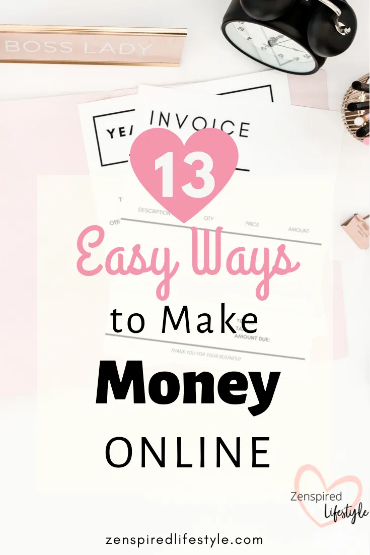 how to make some extra money online quickly