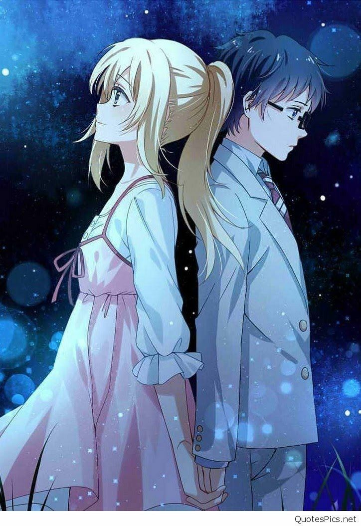 Couple From Your Lie In April Your Lie In April Anime Kawaii Anime