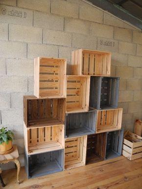 caisses en bois par peiot - Table Basse En Caisse En Bois