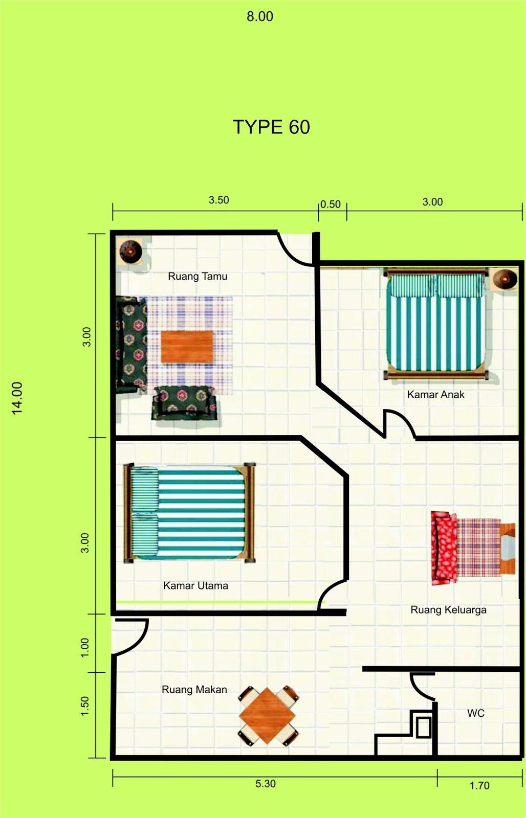 Gambar Denah Rumah Minimalis 1 Lantai Desain 2015 MODEL RUMAH UNIK   Denah  Rumah, Rumah Minimalis, Desain