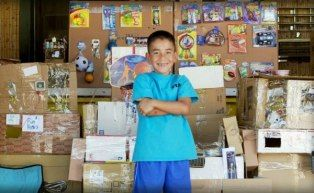 The powerful mind of a child      Caine Monroy has proven there's no limit to what you can create from a big pile of cardboard and an even bigger imagination.    The 9-year-old from Los Angeles built a fantasy arcade in his father's East L.A. used car parts shop during his summer vacation. He created the entire arcade by ...
